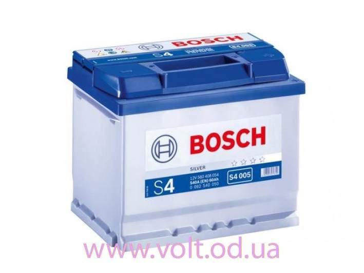 Bosch S4 Silver 60ah L+540A