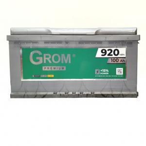 GROM PREMIUM 100ah R+920A