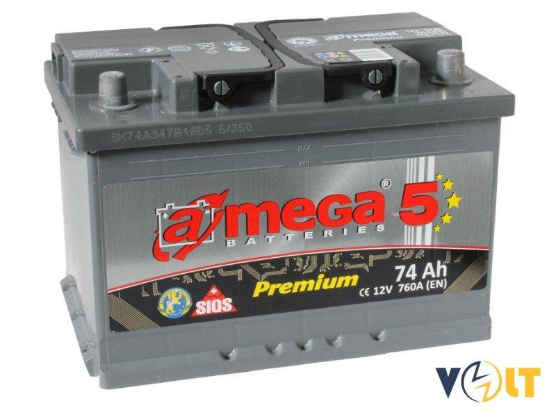 A-Mega PREMIUM 74Ah R+ 760A