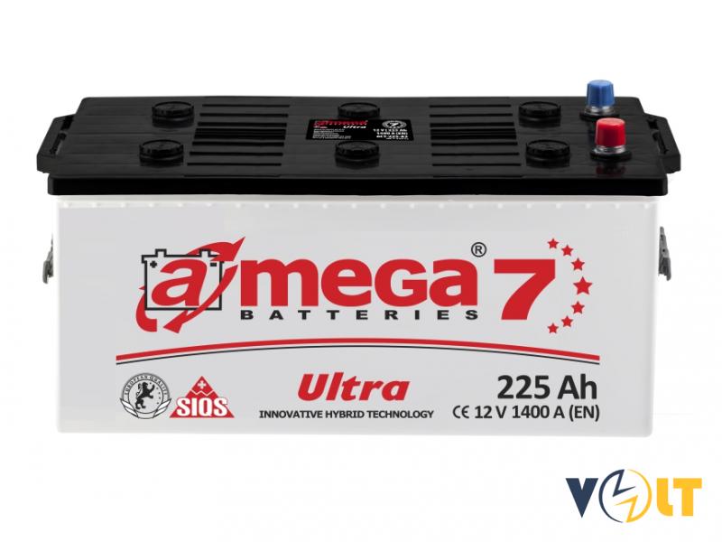 A-Mega Ultra 225Ah R+ 1400A