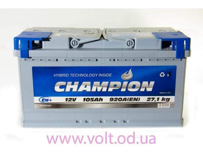 Champion 105ah R+920A
