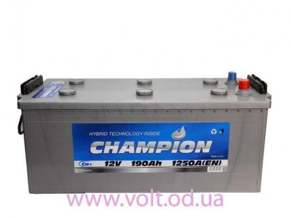 Champion 190ah L+1250A