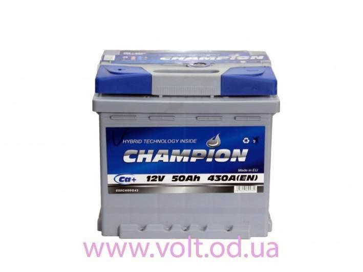 Champion 50ah L+430A