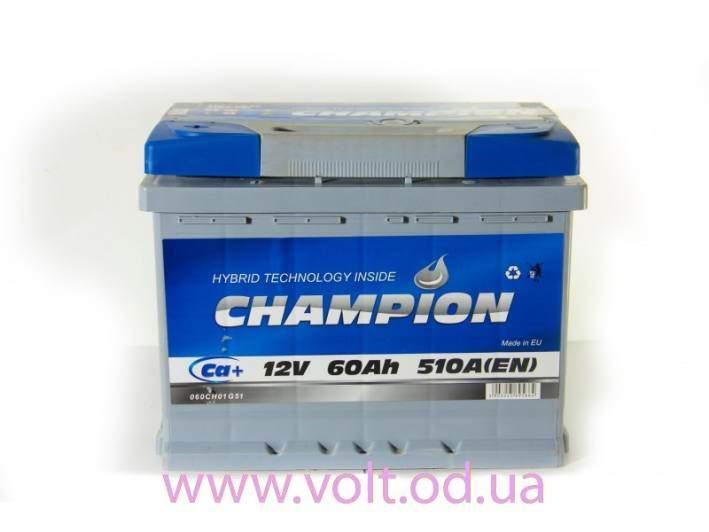 Champion 60ah R+510A