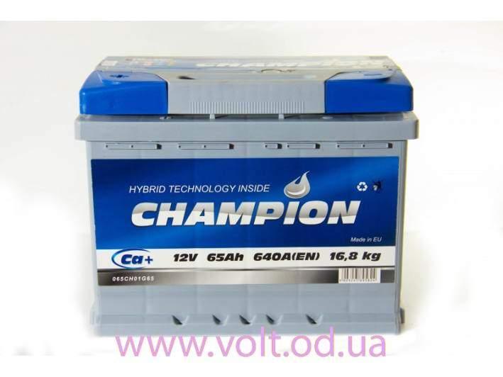 Champion 65ah R+640A