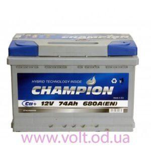 Champion 74ah R+680A