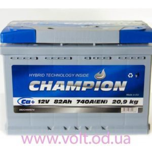 Champion 82ah R+740A