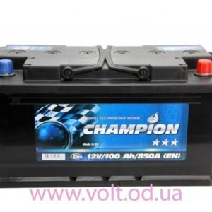 Champion Black 100ah R+850A