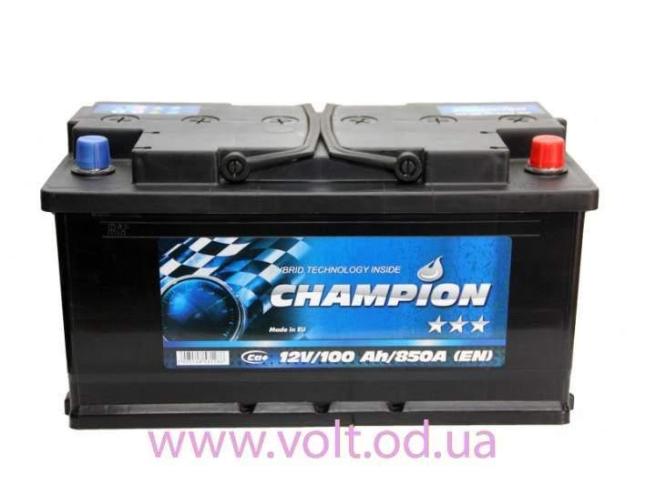 Champion Black 100ah R+850A