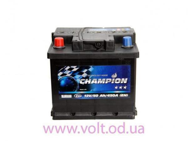 Champion Black 50ah L+450A