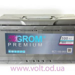 GROM PREMIUM 100ah