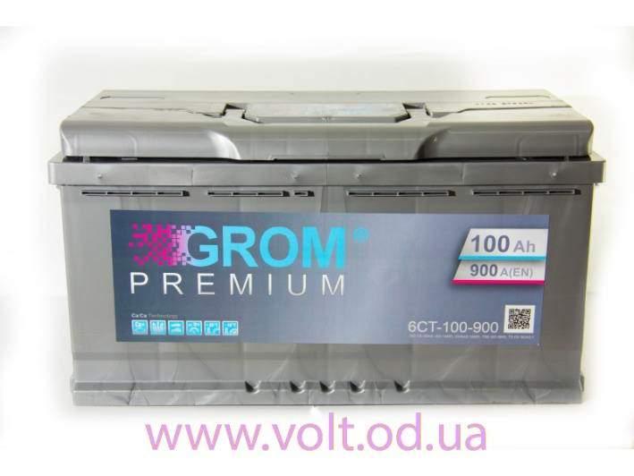GROM PREMIUM 100ah R+900A