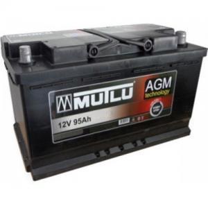 MUTLU AGM START-STOP 95AH R+ 900A