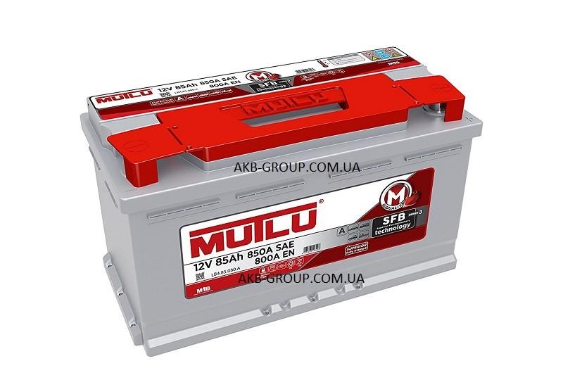 MUTLU SFBTechnology(Ser3) 85Ah R+ 850A(низкобазовый)