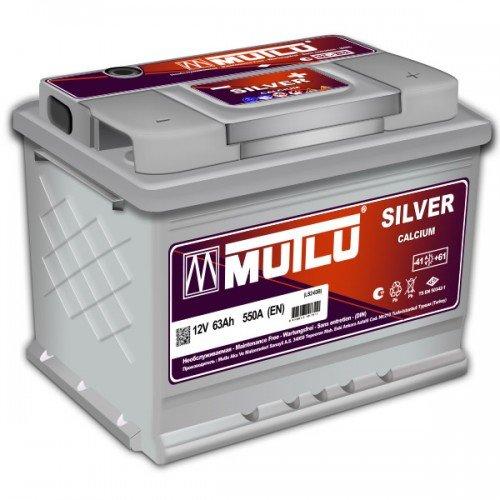 MUTLU SILVER CALCIUM 63AH 550A