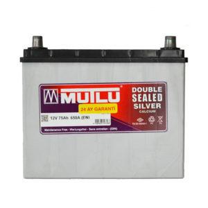 MUTLU SILVER CALCIUM 75AH JR+ 650A