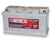 MUTLU SILVER CALCIUM 80Ah R+640A(низкобазовый)