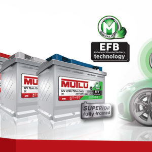 Mutlu EFB Start-Stop Technology 72Ah R+ 720A