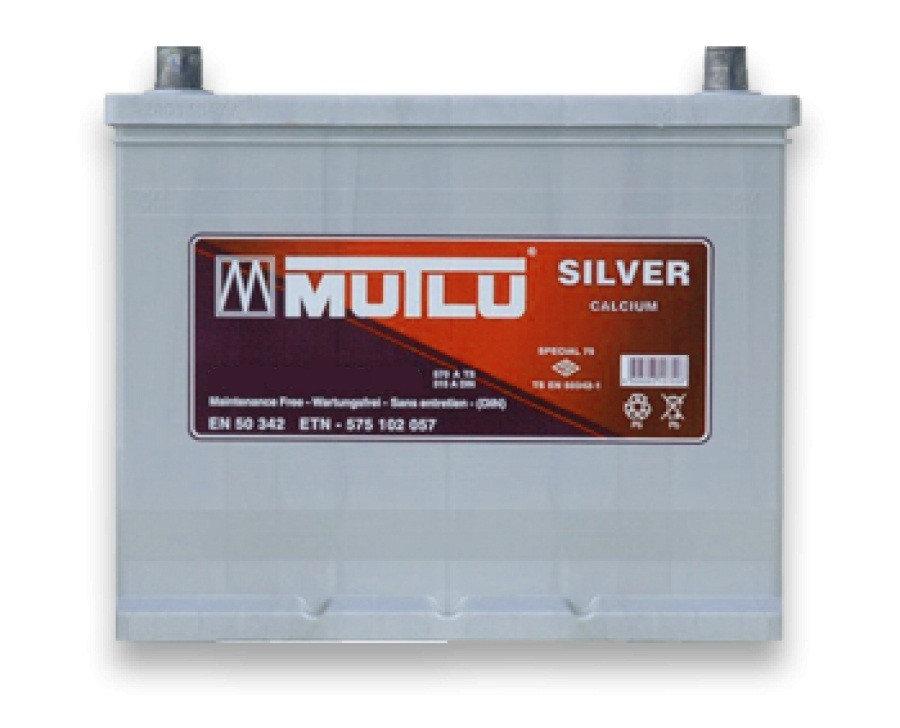 Mutlu Silver Calcium 55AH JR+ 450A