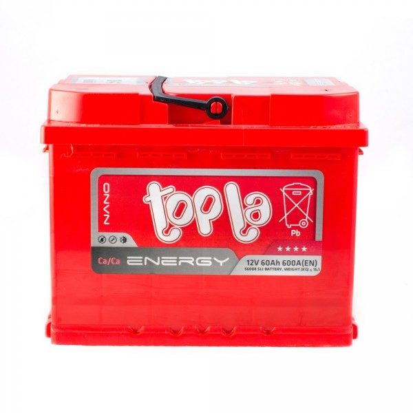 TOPLA ENERGY 60AH 600A