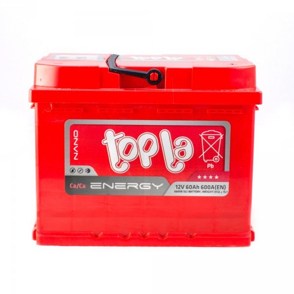 TOPLA ENERGY 60AH L+ 600A