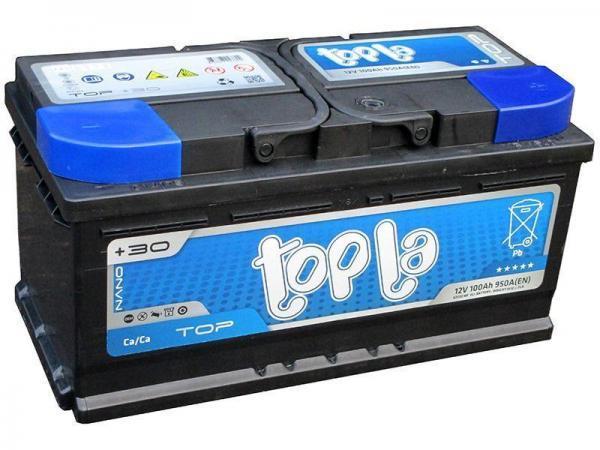TOPLA TOP 100AH R+ 950A