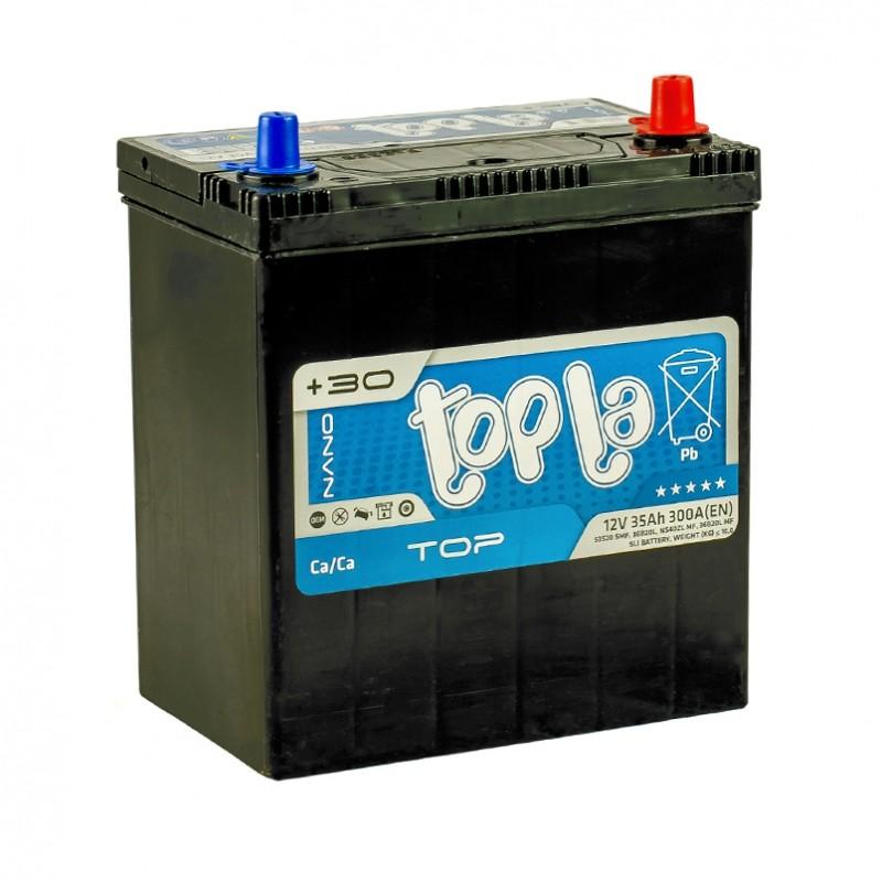 TOPLA TOP 35AH JL+ 300A (тонкая клемма)