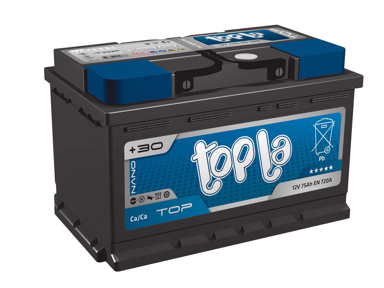 TOPLA TOP 75AH R+ 720A