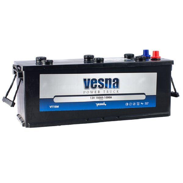 Vesna Power 135 Ah R+ 850A