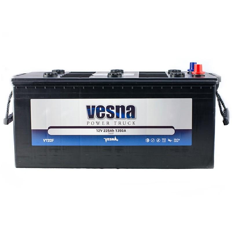 Vesna Power 225 Ah R+ 1250A