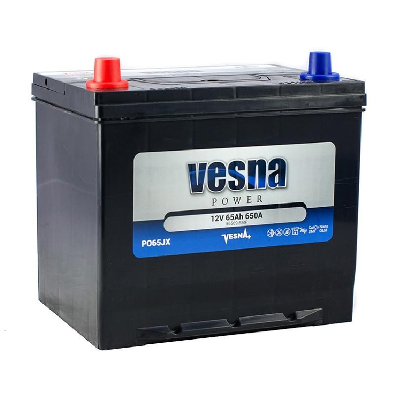 Vesna Power 65 Ah L+ 650A Asia