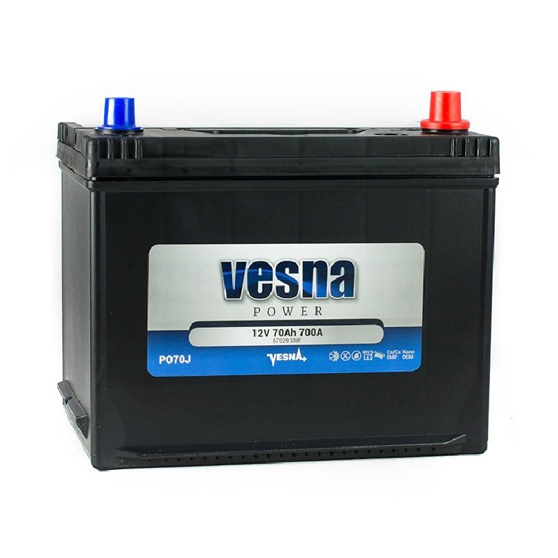Vesna Power 70 Ah R+ 700A