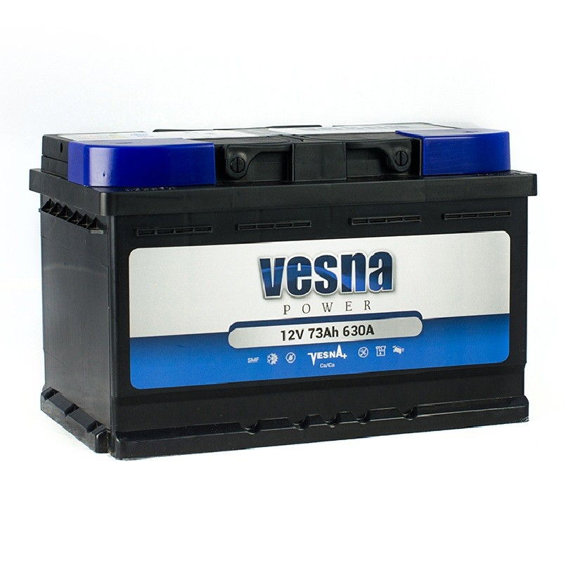 Vesna Power 74 Ah R+ 680A