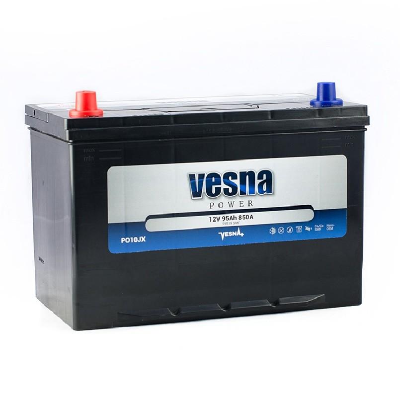 Vesna Power 95 Ah L+ 850A Asia