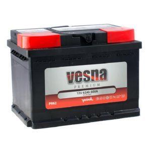 Vesna Premium 62 Ah R+ 600A