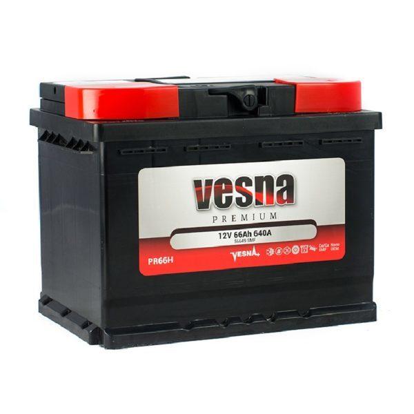 Vesna Premium 66 Ah R+ 640A