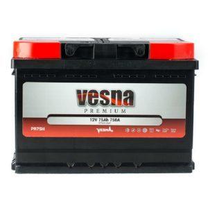 Vesna Premium 75 Ah R+ 750A