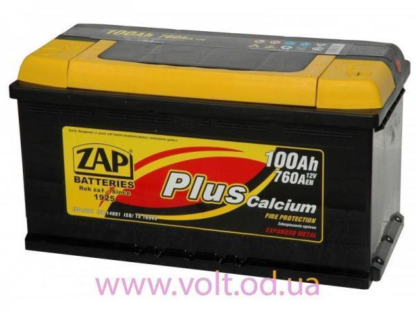 ZAP Plus 100 Ah 760A