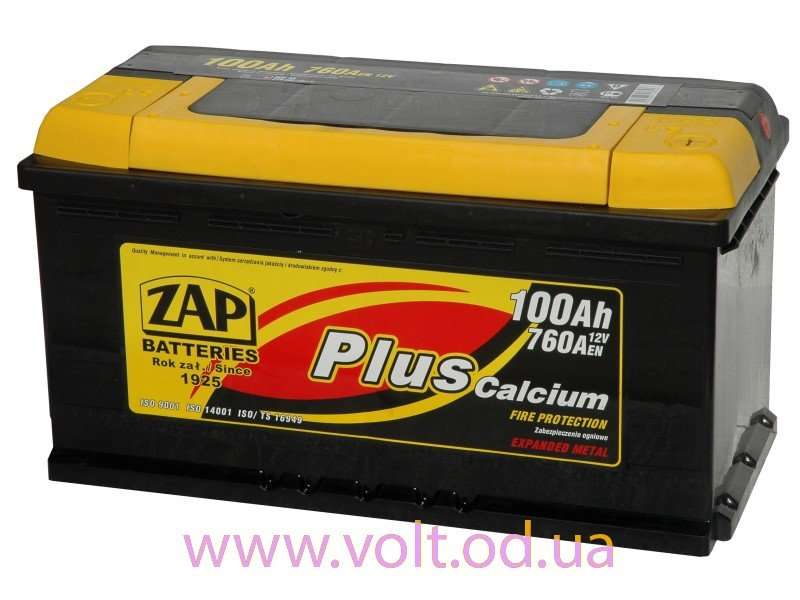 ZAP Plus 100 Ah JR+ 760A