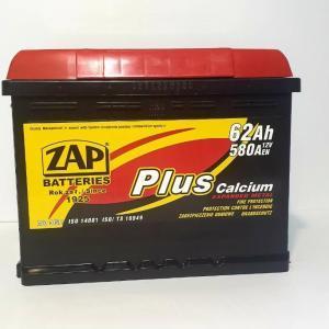 ZAP Plus 62Ah JL+ 580A
