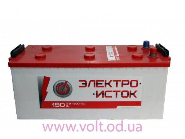 Электроисток 190аh L+1200A