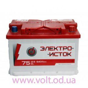 Электроисток 75ah R+640A