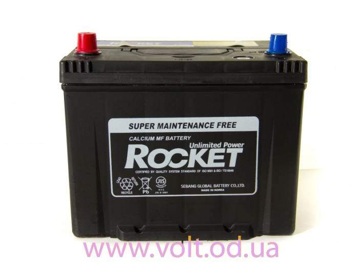 ROCKET 85D26L 80ah JR+ 650A