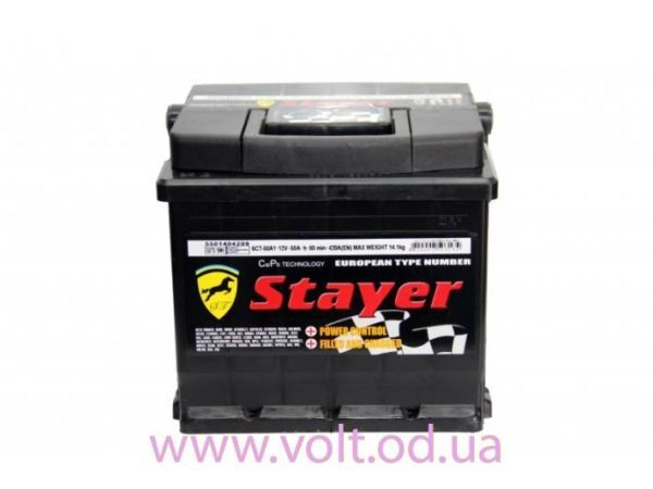 Stayer 50аh L+420A