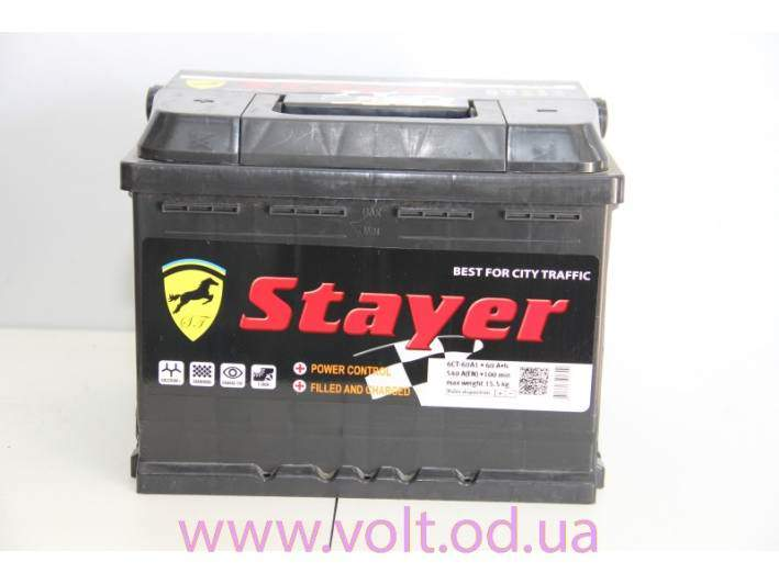 Stayer 60аh L+540A