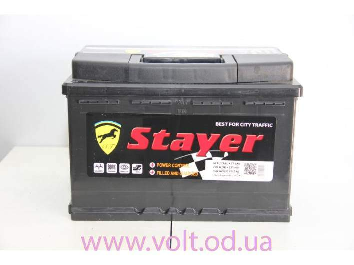 Stayer 77аh R+720A
