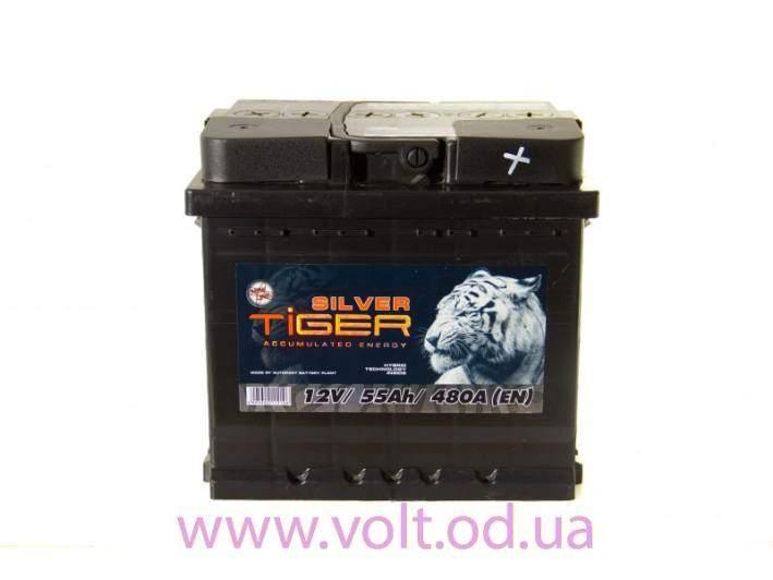 TiGER Silver 55ah L+480A