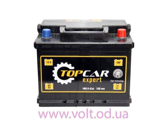 Top Car EXPERT 60аh R+480A