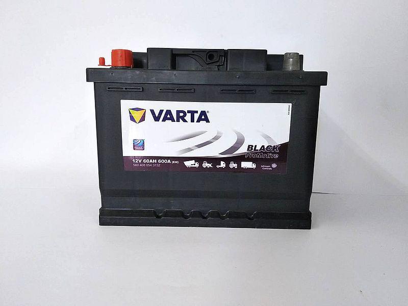 Varta Promotive Black 60Ah R+ 600A