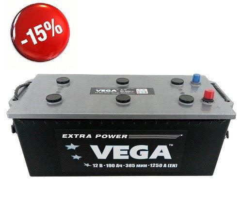 Vega 190Ah L+ 1250A